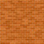 Tapeta ścienna w cegły