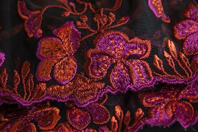 Najpopularniejsze wzory haftu weneckiego